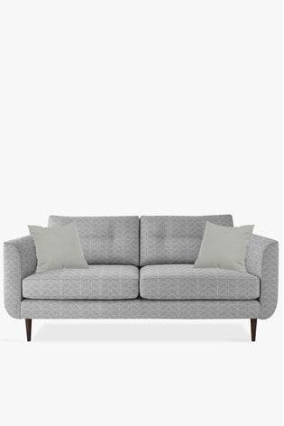 Orla Kiely Linden Large Sofa With Walnut Feet