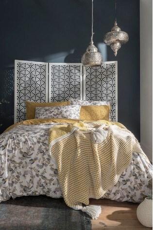 Housse De Couette Orientale.Fatface Oriental Bird Duvet Cover And Pillowcase Set
