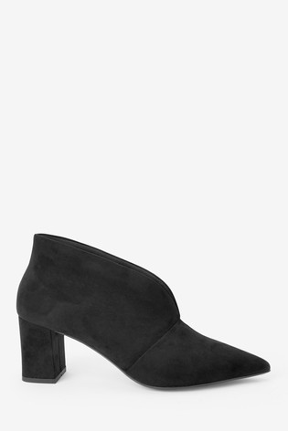 Black Forever Comfort® Low Block Shoe Boots