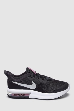 Run Sequent 4 Trainers Blacksilver Nike iuTZkOPX