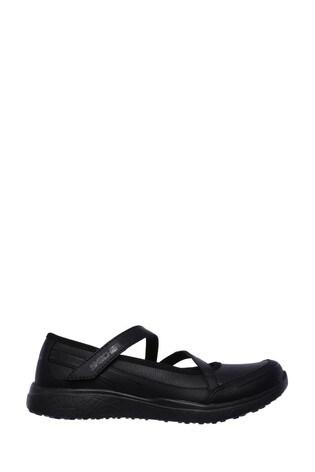 online retailer 4b84f e17b9 Skechers® Kids Black Mary Jane