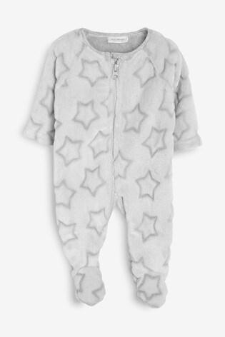 0/Monate Bis 3/Jahre next Baby Jungen Weicher Fleece Schlafanzug Mit Stern