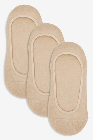 Nude Cotton Rich Footsies Three Pack