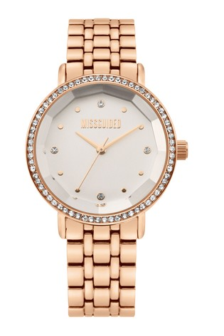 Missguided Rose Gold Watch