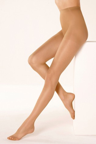 Golden Tan Matt Tights Three Pack