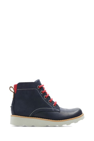 Clarks Blue Crown Hike K Boots