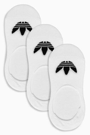 Unisex adidas ORIGINALS TREFOIL NO SHOW Socks