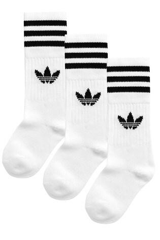 Adidas Originals Retro Sports Socks Brand New White or Black | eBay