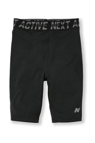 Black Base Layer Shorts (3-16yrs)