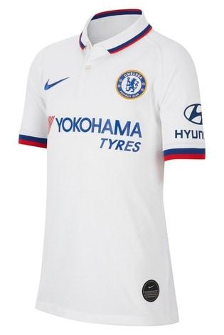 super popular 34354 c18df Buy Nike Youth White Chelsea Football Club 2019/2020 Away ...