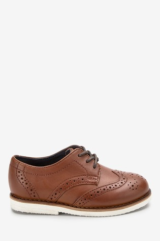 huge discount huge discount ever popular Tan Leather Brogues (Younger)