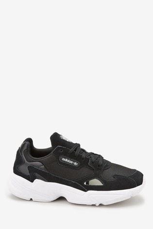 Adidas Falcon Schoenen | Adidas Originals Falcon W ZwartWit
