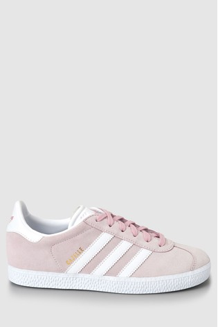 super cute various colors sells adidas Originals Pink Gazelle Youth Trainers