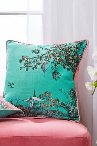 Toile Jacquard Cushion