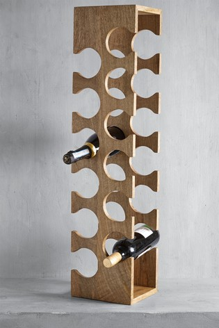 XL Wooden Wine Rack