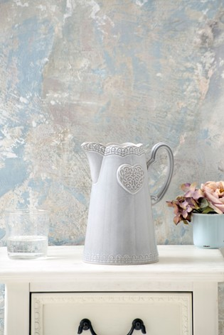 Heart Ceramic Jug