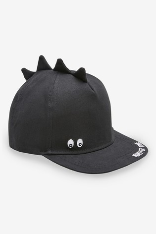 Black Dino Spikes Cap (Younger)