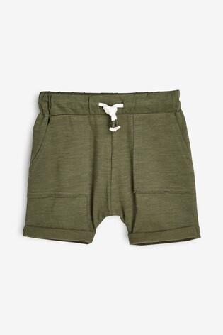 Grey/Khaki/Blue 3 Pack Lightweight Textured Shorts (3mths-7yrs)