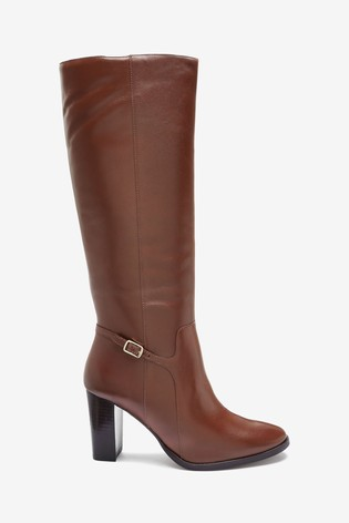 Tan Signature Knee High Boots