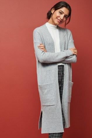 Grey Marl Cardigan