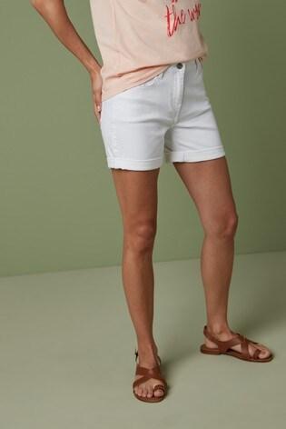 White Boy Shorts