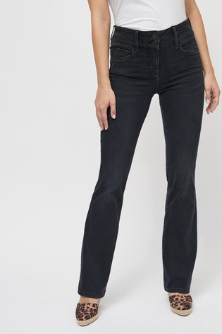 Smokey Grey Lift, Slim And Shape Boot Cut Jeans