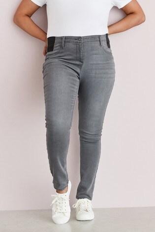 Denim Grey Maternity Super Soft Skinny Jeans
