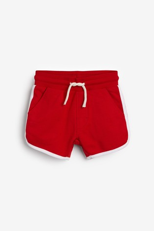 Red Runner Shorts (3mths-7yrs)