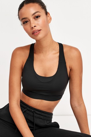 adidas Black Don't Rest Perfect Fit Bra