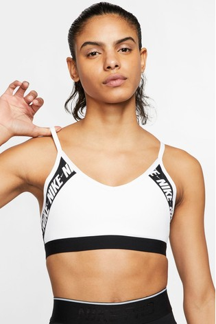 Nike Indy Logo Light Support Sports Bra
