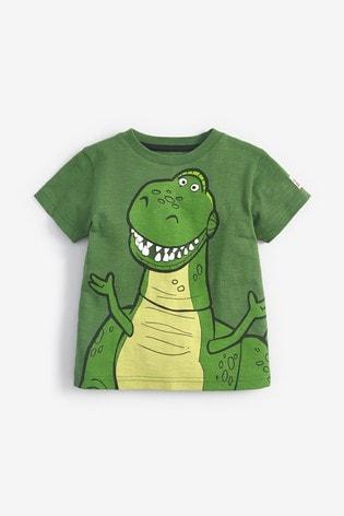Green Disney™ Toy Story Rex 3D Spikes T-Shirt (9mths-8yrs)