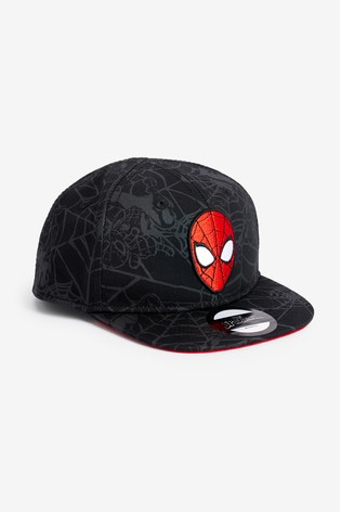 Black Spider-Man Cap (Younger)