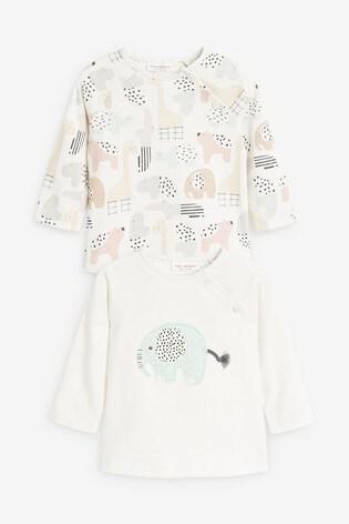 Mint 2 Pack GOTs Organic T-Shirt (0-12mths)