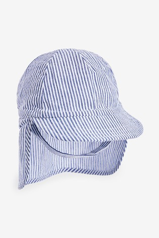 Blue Stripe Legionnaire Hat (0mths-2yrs)
