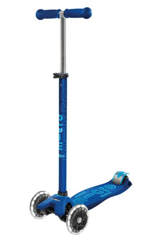 Micro Scooter Maxi Deluxe LED Navy