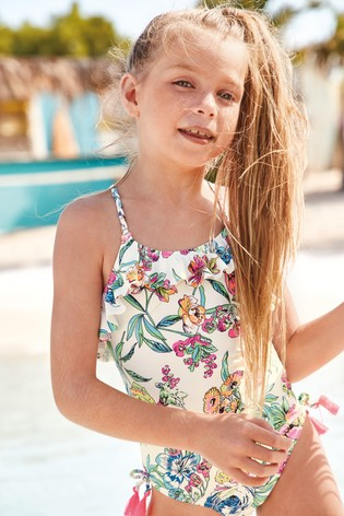 Fluro Floral Swimsuit (3mths-16yrs)