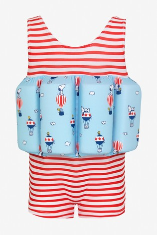 Sunuva Red Stripe Snoopy Floatsuit