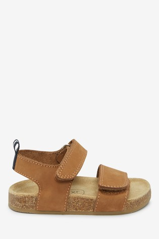 Tan Corkbed Sandals (Younger)