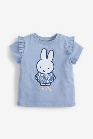 Blue Miffy T-Shirt (3mths-7yrs)