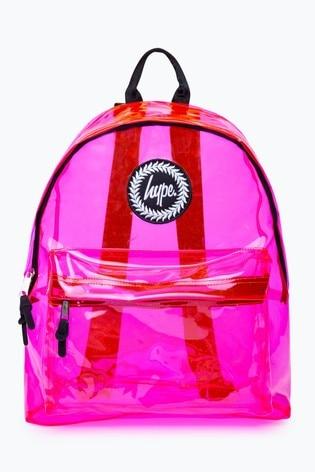 Hype. Clear Print Backpack