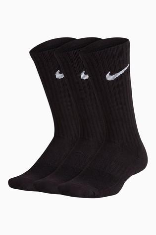 Nike Kids Cushioned Crew Socks Three Pack