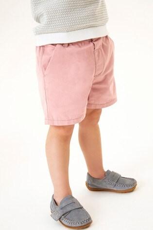 Pink Chino Shorts (3mths-7yrs)
