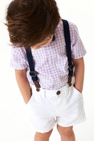 Lilac Shirt & Shorts Set (3mths-7yrs)