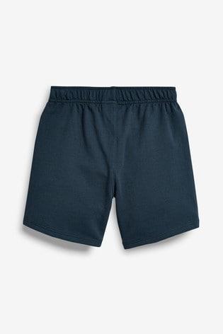 Navy Jersey Shorts (3-16yrs)