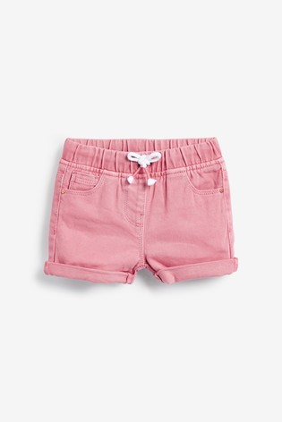 Pink Pull-On Shorts (3mths-7yrs)