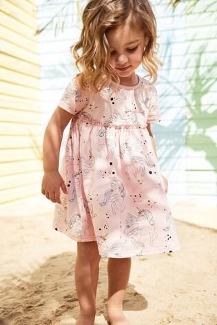 Pink Unicorn Dress