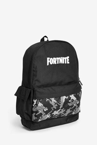 Black Fortnite Backpack