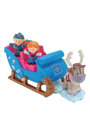 Fisher-Price Little People Disney™ Frozen Kristoff's Sleigh Figure And Vehicle Set