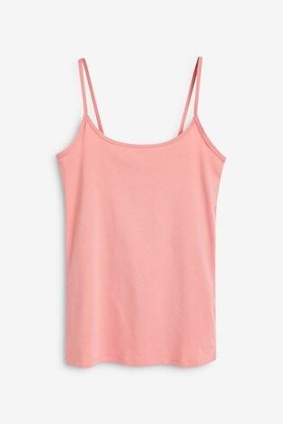 Baby Pink Thin Strap Vest
