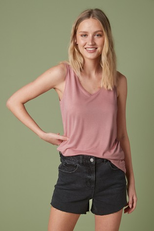 Baby Pink Slouch Vest